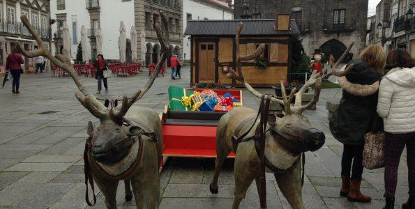 Praça da República de Viana transforma-se em Praça Natal este sábado